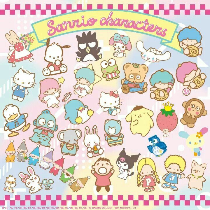 article, kuromi, and my melody image