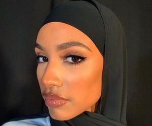 black beauty, black woman, and hijab image