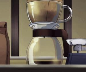 anime, yummy, and coffee image