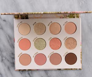beauty, eyeshadow palette, and colourpop image