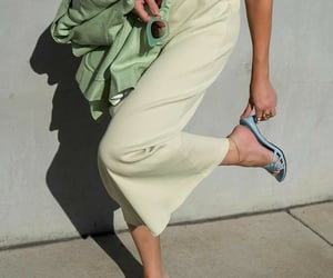 fashion, fashionista, and mint green image