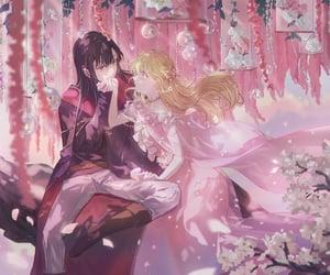 art, anime romance, and artwork image