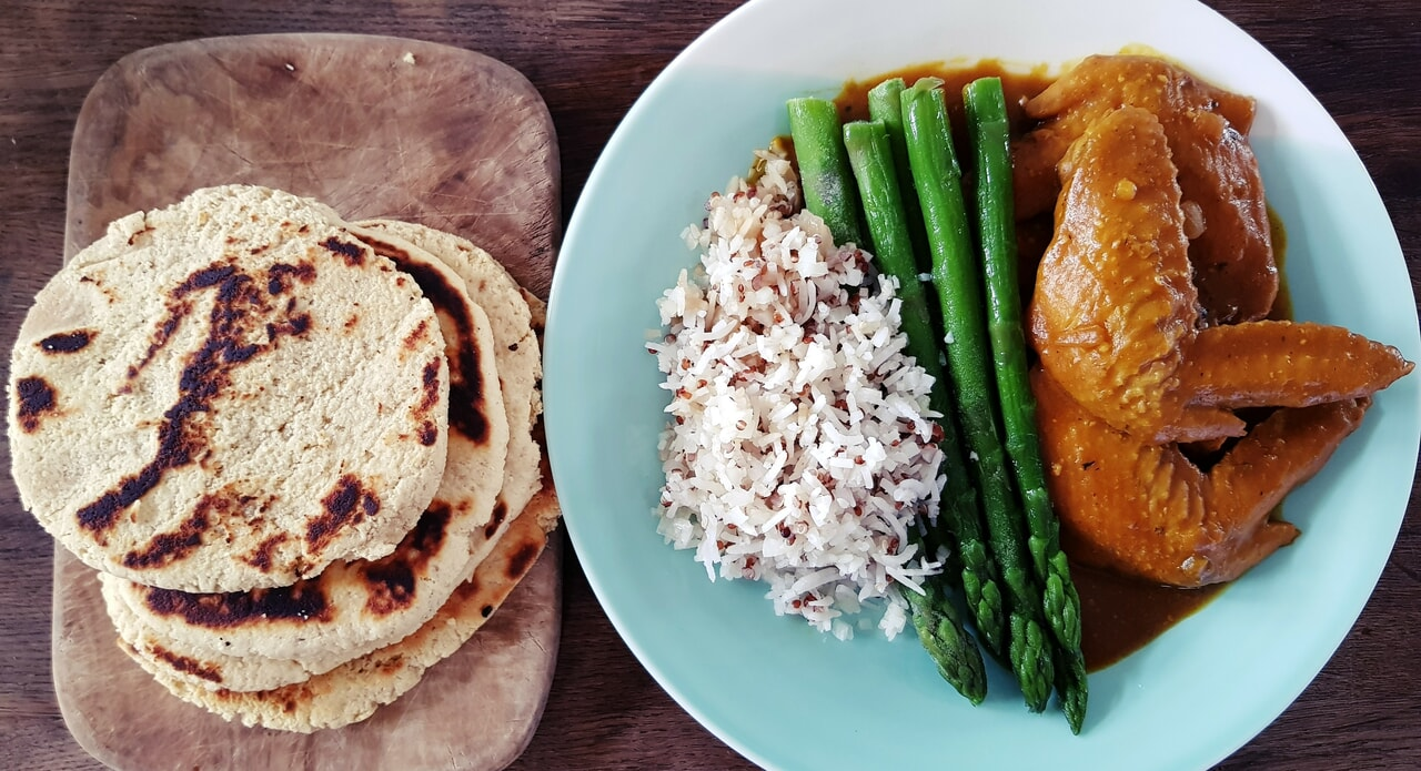 Chicken, meal, and curry image