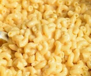aesthetic, cream, and pasta image
