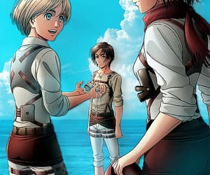 anime, attack on titan, and eren yeager image