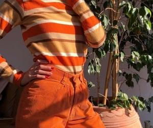 orange, fashion, and style image