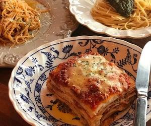 pasta, lasagna, and food image