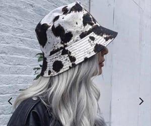 animal print, fashion, and hat image