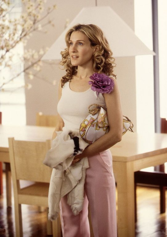 Carrie Bradshaw, Christian Dior, and fashion image