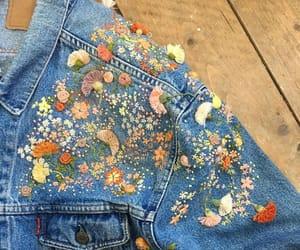 craft, denim, and denim jacket image