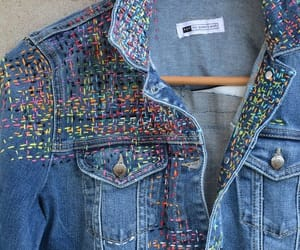 colorful, craft, and denim image