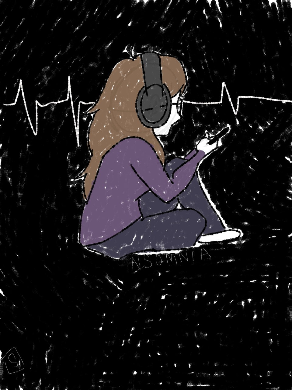 anxiety, article, and sad image