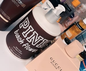 body lotion, gucci, and luxury image