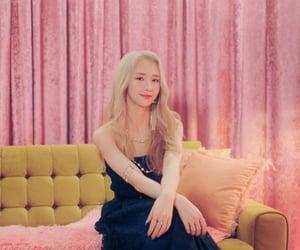 blonde, dress, and makeup image