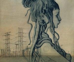 art, dieselpunk, and girl image