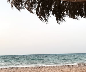beach, egypt, and nature image