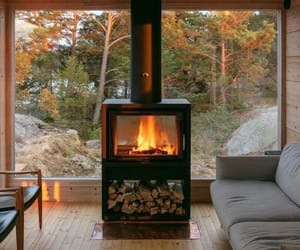 amazing, finland, and fireplace image