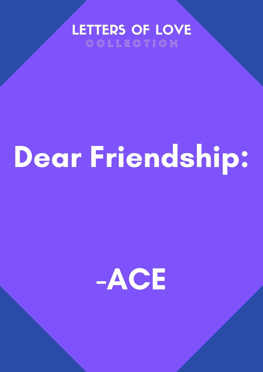 article, blue, and friendship image