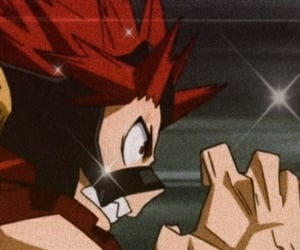 kirishima, red riot, and my hero academia image
