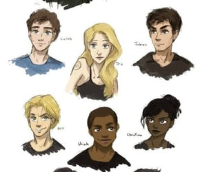 four, divergente, and divergent image