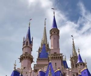 disney, magic kingdom, and cinderellas castle image
