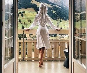 girl, spa, and travel image