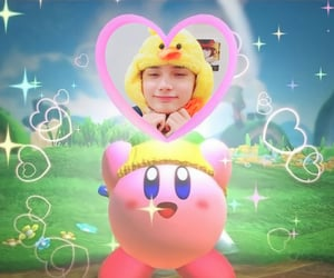 kpop, react pic, and kirby image