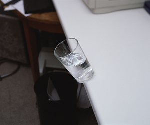 water and glass image