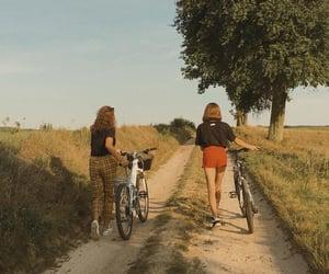 bike, fashion, and friendship image
