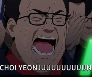 kpop, react pic, and meme image