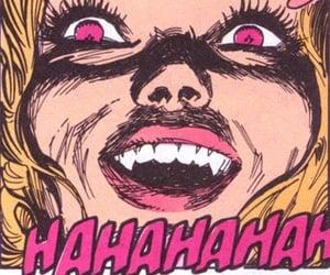 cartoon, fangs, and girl image