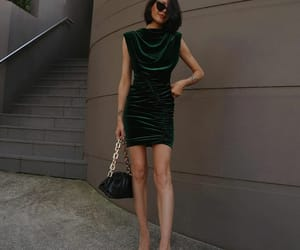 blogger, bottega veneta, and dress image