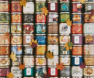 photography, autumn, and candles image