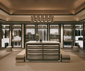 clothes, dressing room, and luxury image