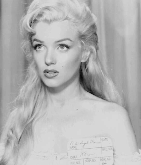 Marilyn Monroe and vintage image