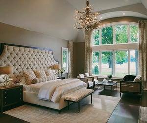 bedroom, luxury, and window image