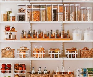 food, home, and organization image
