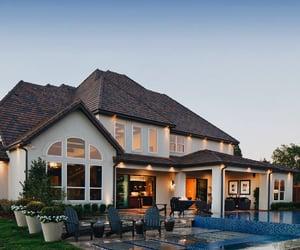 backyard, garden, and home image