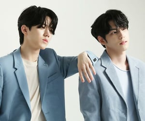 allure magazine, behind the scenes, and day6 image