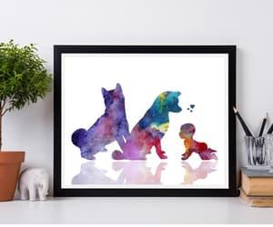 etsy, dog decor, and gender reveal gift image