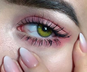 nails, eye, and eyes image