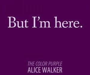 quote and the coloraturas purple image
