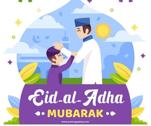 eid greetings, eid ul adha mubarak, and bakrid wishes image