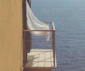 sea, aesthetic, and balcony image