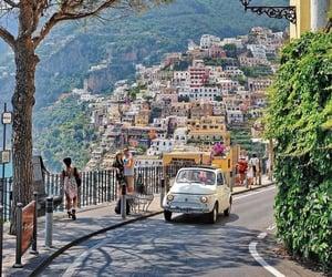 italy, travel, and positano image
