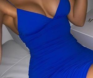blue, club, and dress image