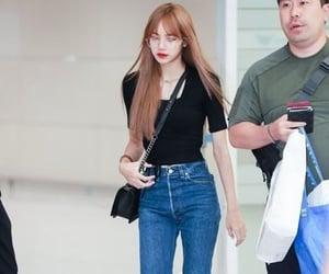 black, fashion, and korean style image