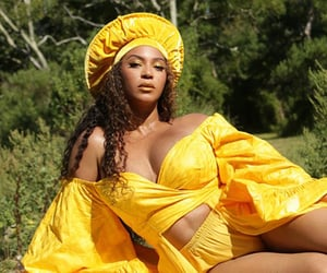 beyonce knowles, black is king, and the gift image