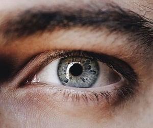 eye, aesthetic, and blue image