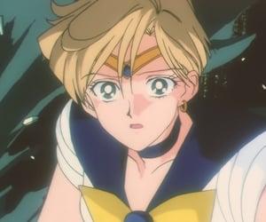 sailor uranus, sailor moon, and haruka tenoh image